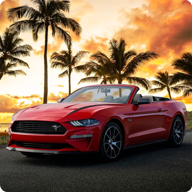 Convertible Hawaii Car Rentals