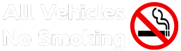 All vehicles no smoking