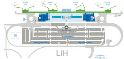 Kauai airport map